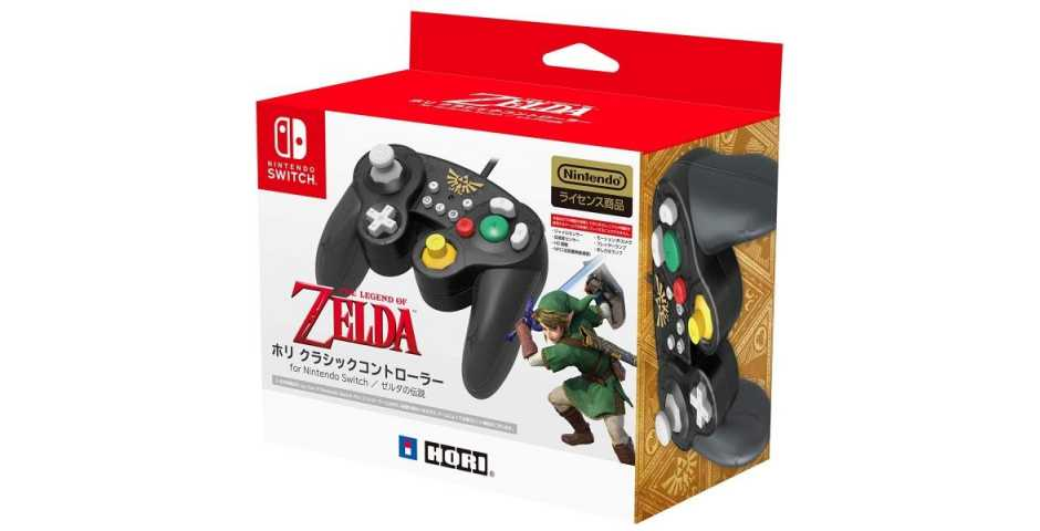 Геймпад для Nintendo Switch - Hori BATTLE PAD (ZELDA)