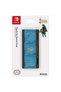 Кейс для картриджей Nintendo Switch - Hori POP & GO GAME CASE (ZELDA)