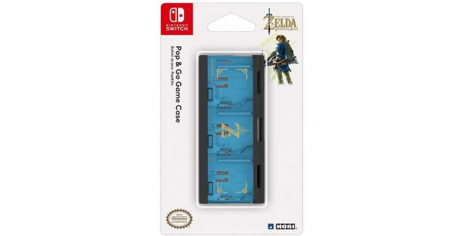 Кейс для картриджей Nintendo Switch - Hori POP & GO GAME CASE (ZELDA)
