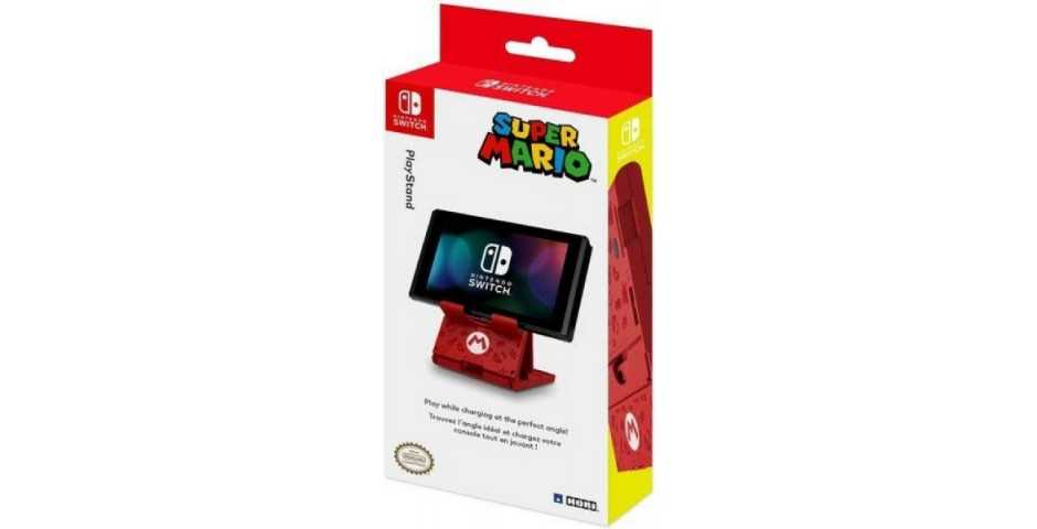 Подставка для Nintendo Switch - Hori PLAYSTAND (SUPER MARIO)