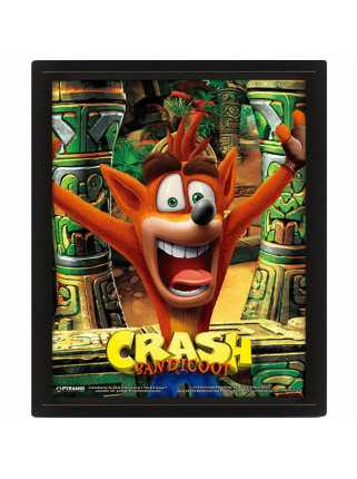 Постер 3D Crash Bandicoot (Mask Power Up)