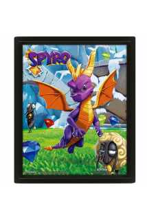 Постер 3D Spyro (Play Time)