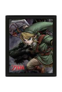 Постер 3D The Legend Of Zelda (Twilight Princess)