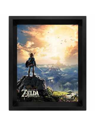 Постер 3D The Legend Of Zelda (Sunset)