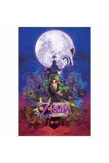 Постер The Legend Of Zelda (Majora's Mask)