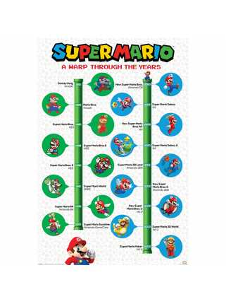 Постер Super Mario (A Warp Through The Years)