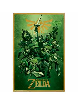 Постер The Legend Of Zelda (Link)
