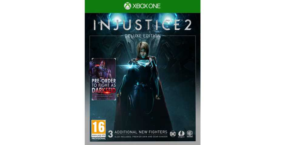 Injustice 2 Deluxe Edition [Xbox One, русская версия]
