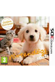 Nintendogs + Cats - Golden Retriever + New Friends [3DS]
