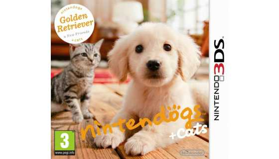 Nintendogs + Cats - Golden Retriever + New Friends [3DS]