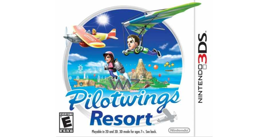 Pilot Wings Resort 3D [3DS]