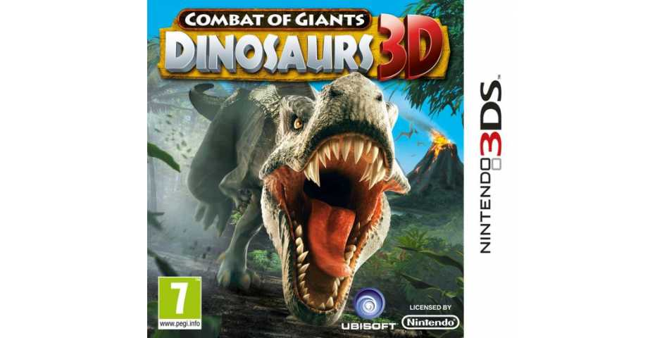 Combat of Giants: Dinosaurs 3D [3DS]