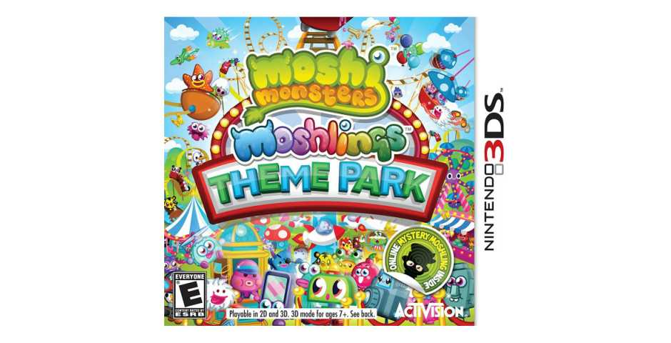 Moshi Monsters Moshlings Theme Park [3DS]