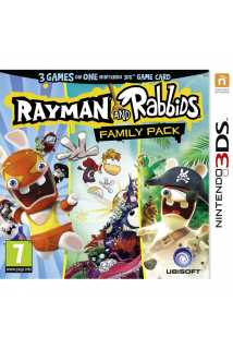 Rayman and Rabbids Family Pack [3DS]