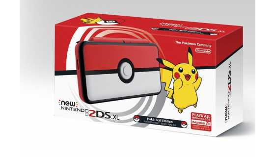 New Pokéball Nintendo 2DS XL