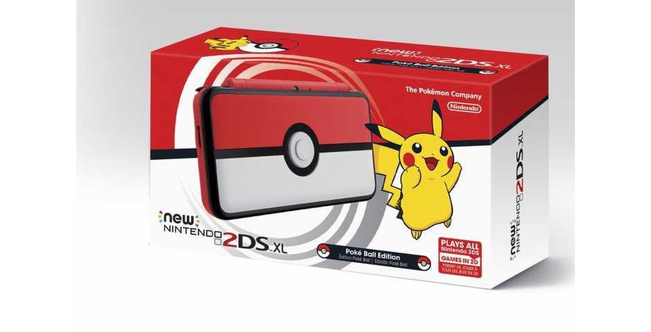 New Pokeball Nintendo 2DS XL