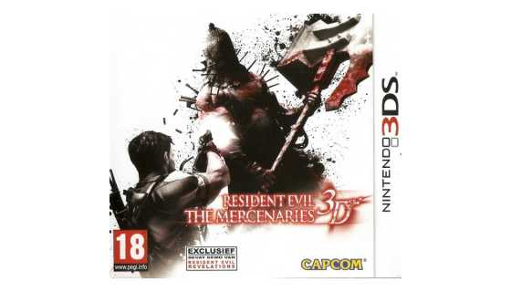 Resident Evil: The Mercenaries 3D [3DS]