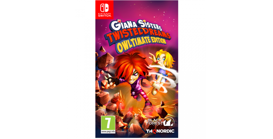 Giana Sisters. Twisted Dream - Owltimate Edition [Switch, русская версия]