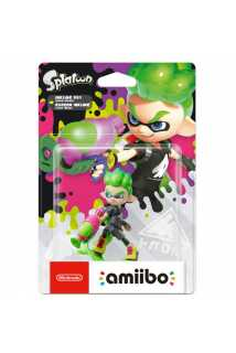 Amiibo Inkling Boy (neon green)