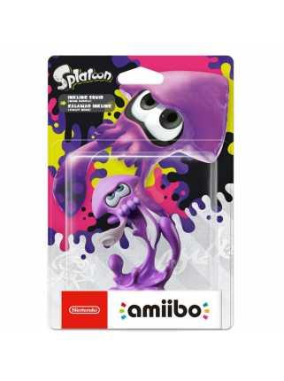 Фигурка amiibo - Инклинг-кальмар (неонов-фиолетовый) (коллекция Splatoon)
