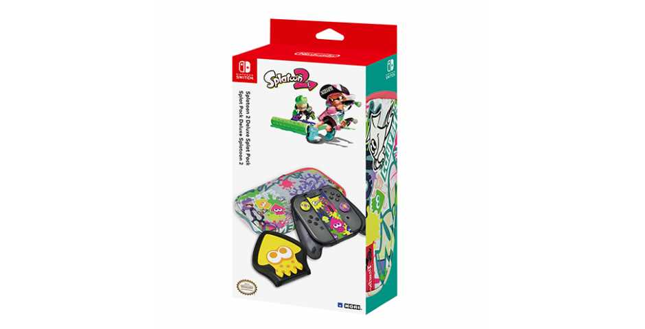 Набор аксессуаров Splatoon 2 Deluxe Splat Pack [Switch]