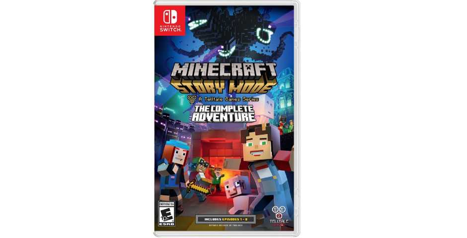 Minecraft: Story Mode - Complete Adventure (эпизоды 1-8) [Switch]