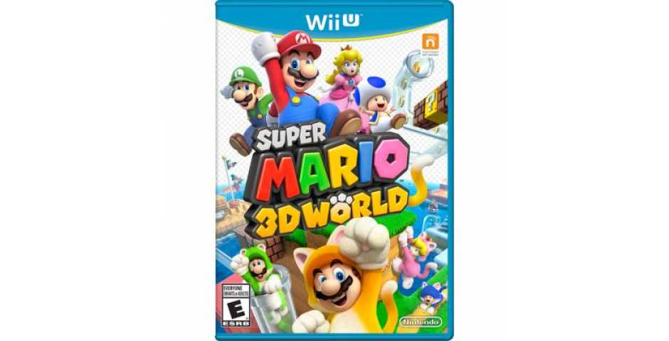 Super Mario 3D World (Русская версия) [WiiU]