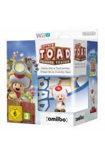 Комплект игра Captain Toad: Treasure Tracker + Amiibo: Captain Toad [WiiU]