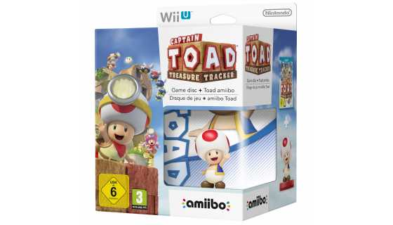 Комплект игра Captain Toad: Treasure Tracker + Amiibo: Captain Toad [WiiU]