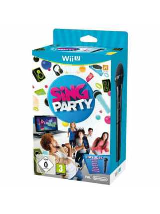 SiNG Party with WiiU Microphone [Русская/Engl.vers.] [WiiU]
