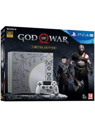 PlayStation 4 Pro 1GB God of War Limited Edition
