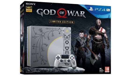 Sony PlayStation 4 Pro (1 ТБ), God of War Limited Edition Bundle