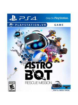 ASTRO BOT Rescue Mission [PSVR, русская версия]