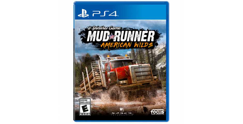 Spintires: MudRunner American Wilds [PS4, русская версия]