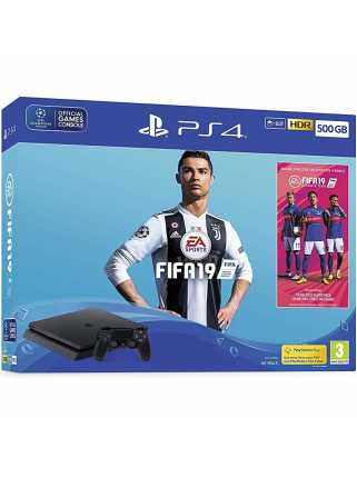 PlayStation 4 Slim 500Gb + FIFA 19