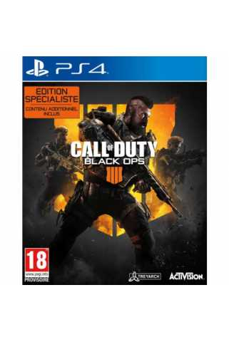 Call of Duty: Black Ops 4. Specialist Edition [PS4] Предзаказ