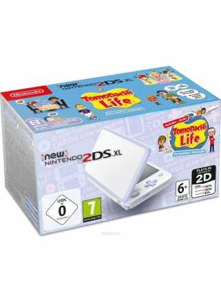 New Nintendo 2DS XL (белый + лаванда) + Tomodachi Life