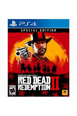 Red Dead Redemption 2. Special Edition [PS4, русские субтитры] Предзаказ