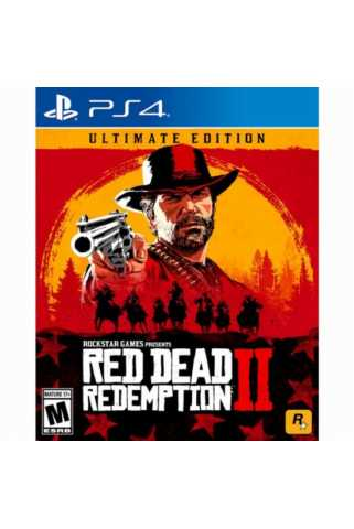 Red Dead Redemption 2. Ultimate Edition [PS4, русские субтитры] Предзаказ