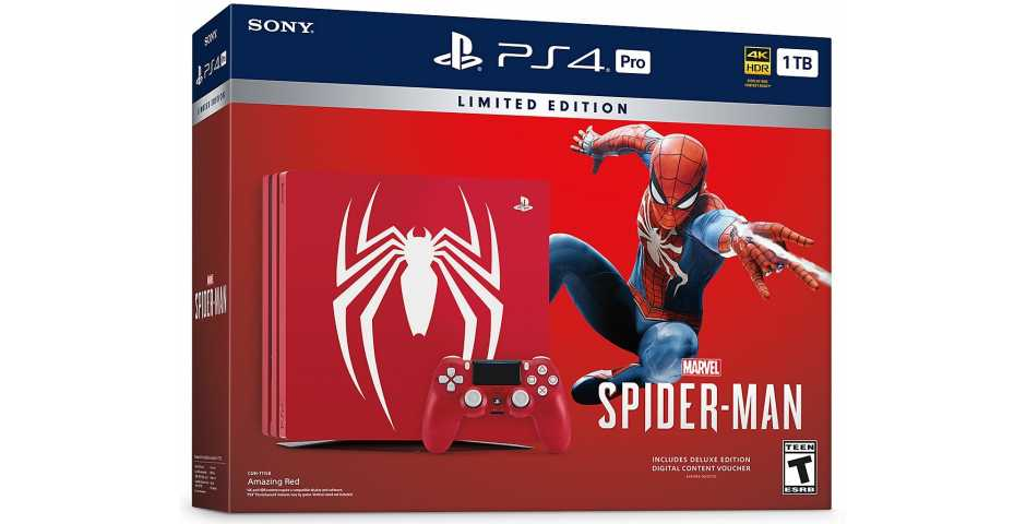 Sony PlayStation 4 Pro (1 ТБ), Marvel's Spider-Man Limited Edition