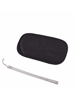 PSP 3000 Сумка мягкая + шнурочек Black