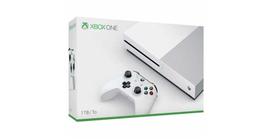 Microsoft Xbox One S 1TB (White)