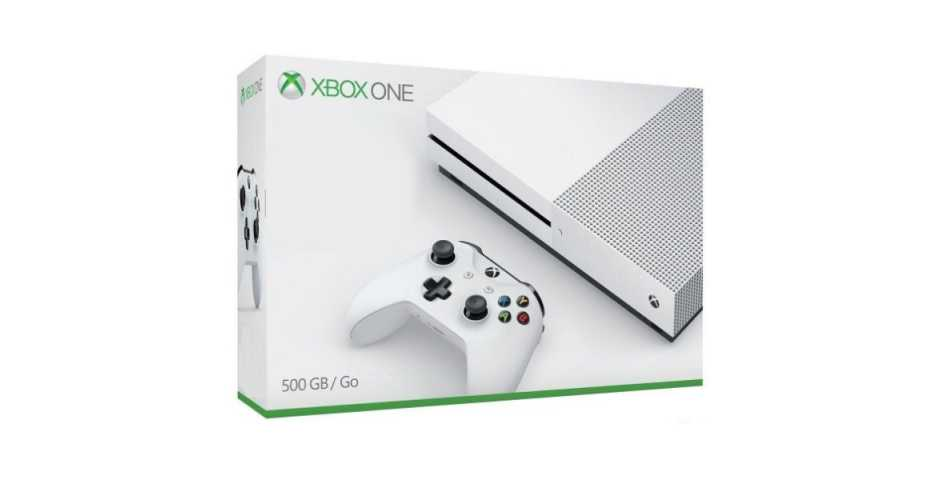 Microsoft Xbox One S 500GB (White)