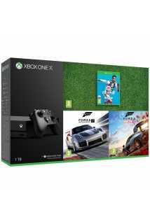 Xbox One X+Forza Horizon 4+FM 7+FIFA 19