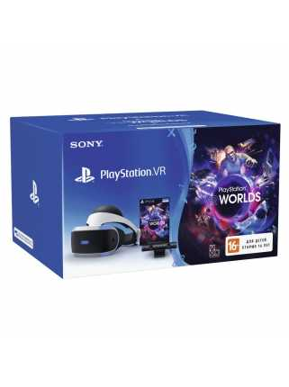 Sony PlayStation VR (с камерой и VR Worlds) (CUH-ZVR1)