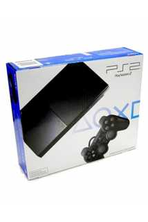 PlayStation 2 Slim (Black) 90008 (Чипованая)