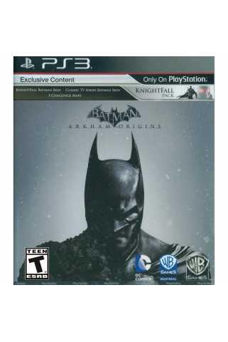 Batman: Arkham Origins [PS3] Trade-in | Б/У
