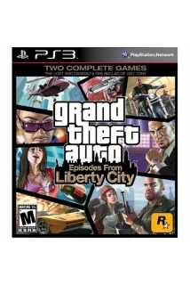 GTA 4 (Grand Theft Auto 4) Liberty City [PS3]