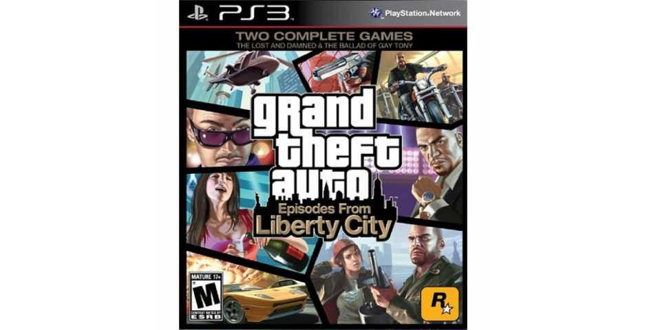 GTA 4 (Grand Theft Auto 4) Liberty City [PS3]