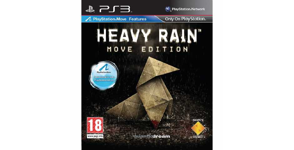 Heavy Rain Move Edition c поддержкой PlayStation Move (USED) [PS3]
